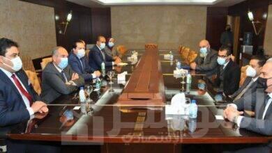 """صورة وفد """"الاتصالات الدولية الليبية"""" يزور """"المصرية للاتصالات"""" لبحث سبل التعاون المشترك في مجال الاتصالات الدولية"""