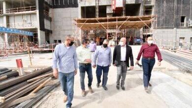 صورة الجزار الإسكان يتفقد مشروعات منطقة الأعمال المركزية بالعاصمة الإدارية
