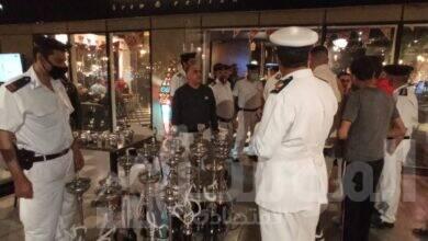 صورة حملة مسائية مكبرة لغلق المقاهي المخالفة ب 6 أكتوبر