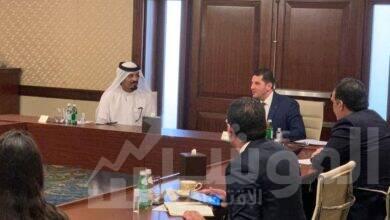 """صورة الرئيس التنفيذي لهيئة الاستثمار يبحث مع مسؤولي """"سكاي أبو ظبي"""" زيادة استثماراتهم في مصر"""