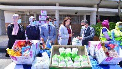 صورة صندوق تحيا مصر يوفر 80 طنا مواد غذائية ودواجن لـ 6 آلاف أسرة بمحافظة دمياط