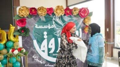 صورة مؤسسة الفاروق تحتفل بيوم اليتيم وتوزع هداية علي الأطفال