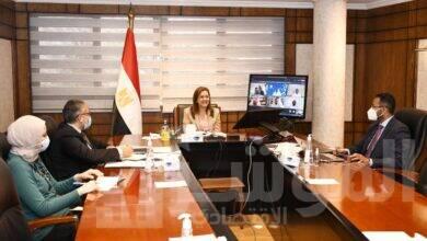 صورة وزيرة التخطيط :فريق إدارة جائزة مصر للتميز الحكومي حقق نقلة نوعية