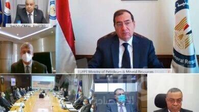 صورة وزير البترول : طفرة كبيرة في أنشطة شركات قطاع البترول داخل وخارج مصر