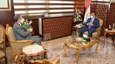 صورة وزير التنمية المحلية تنفيذ المشروعات التنموية وبرنامج تطوير الريف المصري بالغربية