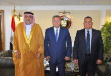 صورة وزير قطاع الأعمال العام يلتقي رئيس الاتحاد العربي للاستثمار والتطوير العقاري لبحث فرص التعاون
