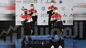 صورة منتخب مصر لسلاح السيف للشباب والناشئين يتوج بطل العالم