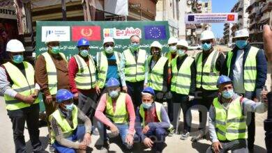 صورة جهاز تنمية المشروعات و  الاتحاد الأوروبي في زيارة لمحافظة بورسعيد لدعم التنمية الاجتماعية