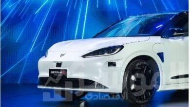 صورة إطلاق أول سيارة كهربائية ذكية تحمل العلامة التجارية المشتركة مع هواوي