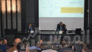 صورة منظومة الفاتورة الإلكترونية والإقرارات الإلكترونية للأشخاص الإعتباريين فى ندوات لمصلحة الضرائب بالتعاون مع الشركة القابضة لكهرباء مصر