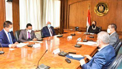 صورة وزيرة التجارة والصناعة تبحث مع مسئولى شركة يوتنج الصينية خطط الشركة المستقبلية  بالسوق المصرى