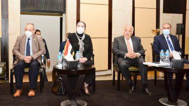 صورة وزيرة التجارة والصناعة تشارك فى مؤتمراستراتيجية زيادة صادرات الدواء إلي افريقيا