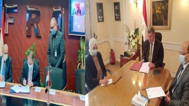 """صورة """"قطاع الأعمال"""" توقع اتفاقية تعاون مع مركز المديرين المصري لتعزيز مفاهيم الحوكمة والإدارة الرشيدة"""