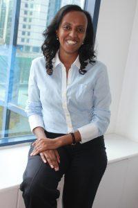 أمروتعبد الله، المديرة الإقليمية لـمبادرةمايكروسوفتمن أجل إفريقيا