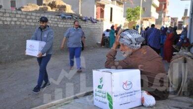 صورة السويس للحاويات تتعاون مع بنك الطعام المصري لتأمين الغذاء لأهالي سيناء خلال رمضان
