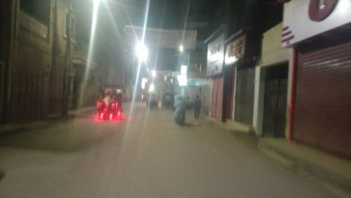 صورة تحرير 225 محضر عدم التزام بمواعيد غلق المحال التجارية والمقاهى وعدم ارتداء كمامة