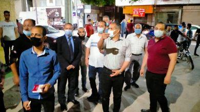 صورة تحرير 4428 محضر مخالفة للاجراءات الإحترازية ومواعيد غلق المحلات بأسيوط