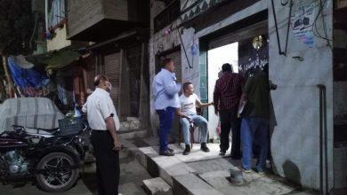 صورة تحرير 4358 محضر اختراق للاجراءات الاحترازية ومواعيد غلق المحلات في أسيوط