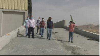 صورة محافظ أسيوط يتفقد أعمال تنفيذ المحطة الإنتقالية الوسيطة للمخلفات الصلبة