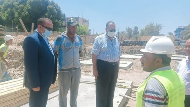 """صورة استمرار الاعمال بمشروعات مبادرة """"حياة كريمة"""" بمحافظة أسيوط"""