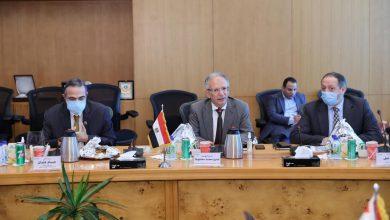 """صورة رئيس """"ايتيدا"""" يستقبل وزير الاتصالات العراقي"""