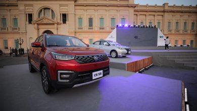 صورة جي بي غبور أوتو تحتفل بإطلاق سيارات شانجان بالسوق المصري
