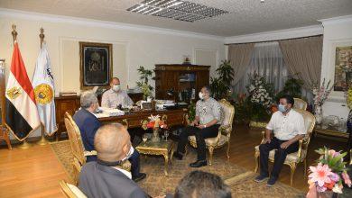 صورة أسيوط تستقبل وفد الانتاج الحربي لتنفيذ مشروعات الكهرباء بمبادرة تطوير الريف المصري
