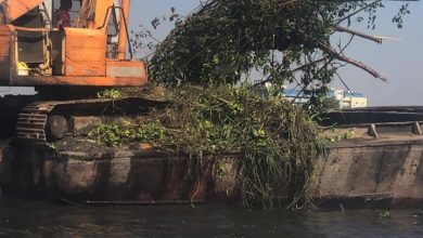 صورة وزارة الموارد المائية والري تواصل ضرباتها المتلاحقة للمتعدين علي مجري نهر النيل فى كافة المحافظات