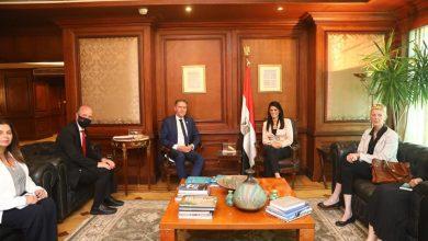 صورة المشاط تلتقى مساعد الأمين العام للأمم المتحدة لبحث مجالات التعاون المشترك