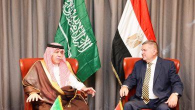 صورة وزير قطاع الأعمال العام يبحث مع وزير التجارة السعودي تعزيز التعاون الاقتصادي