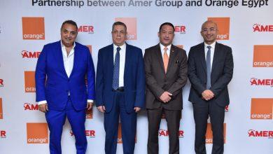 """صورة """" اورنچ مصر"""" و""""عامر جروب"""" تحتفلان بتجديد اتفاقية الشراكة بينهما"""