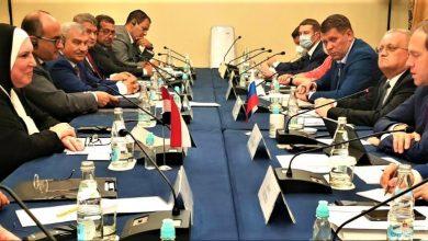 صورة وزيرة التجارة والصناعة تبحث مع نظيرها الروسى سبل تعزيز التعاون الاقتصادي المشترك بين القاهرة وموسكو