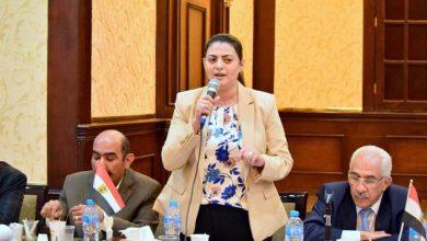 صورة النائبة هند جوزيف عضو لجنة القيم بالشيوخ