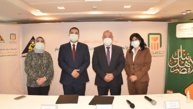 صورة شراكة فاعلة للبنك الأهلي المصري والهيئة العامة لمحو الأمية وتعليم الكبار