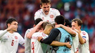 صورة الدنمارك تمطر شباك منتخب ويلز برباعية نظيفة في يورو2020