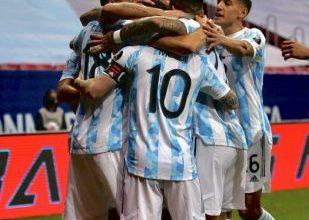 صورة الأرجنتين تتفوق على الأوروجواي في لقاء قمة كوبا أمريكا