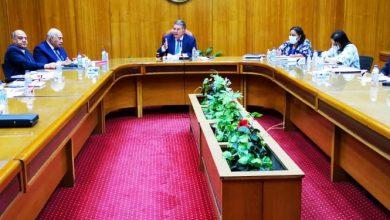 صورة وزير قطاع الأعمال العام يتابع موقف الأعمال الإنشائية لمصانع الغزل والنسيج