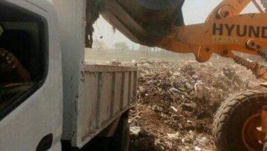صورة حملات للنظافة وإزالة الإشغالات والتعديات على الأراضي الزراعية بمركز الفتح بأسيوط