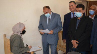 صورة نائب رئيس جامعة الأزهر يتابع سير أعمال امتحانات نهاية العام بكلية البنات الأزهرية بالمنيا
