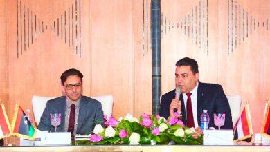 صورة المصرية للاتصالات تستقبل وفدا ليبيا لبحث سبل التعاون بين الجانبين