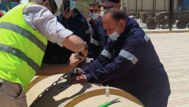 صورة برنامج تدريبي لاخصائي السلامة والصحة المهنية بمحطات مياه أسيوط