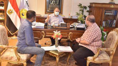 صورة التشغيل التجريبي لمشروع صرف صحي منطقة عرب العوامر الصناعية في أسيوط