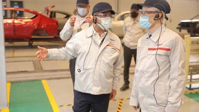 صورة السفير الياباني يزور مقر نيسان موتور إيجيبتويتفقد مصنعها المملوك بالكامل من شركة نيسان العالمية