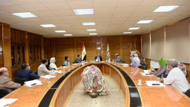 صورة الجمال يتابع مبادرة إدرس فى جامعة أسيوط ..وخطة لتطوير الخدمات التعليمية