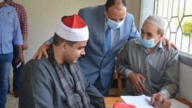 صورة انتظام امتحانات كلية العلوم جامعة الأزهر فرع أسيوط وسط الإجراءات الاحترازية