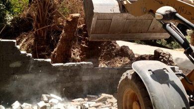 صورة ازالة 13حالة تعدي على الأراضي الزراعية والبناء المخالف في مراكز أسيوط