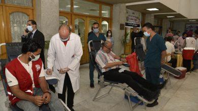 صورة محافظ أسيوط يعلن إنطلاق حملة التبرع بالدم بجميع مراكز الشباب بالمحافظة
