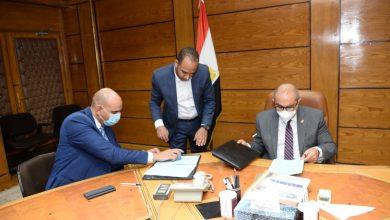 صورة جامعة أسيوط تُوقع تعاون مع الشركة العربية لتكنولوجيا المعلومات لتوفير خدمات الرد الصوتي