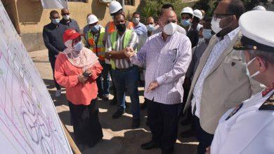 صورة محافظ أسيوط يفتتح الإحلال والتجديد لمحطة معالجة صرف صحي المدابغ