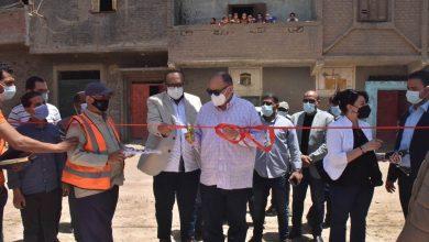 صورة محافظ أسيوط يفتتح أعمال الاحلال والتجديد لمشروع محطة صرف صحي درنكة الرئيسية